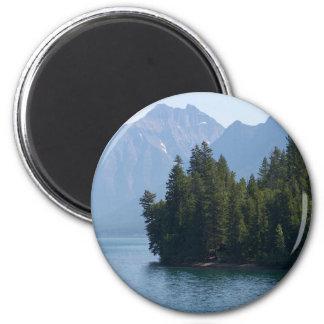 Lake Mcdonald In Glacier National Park Montana Magnet