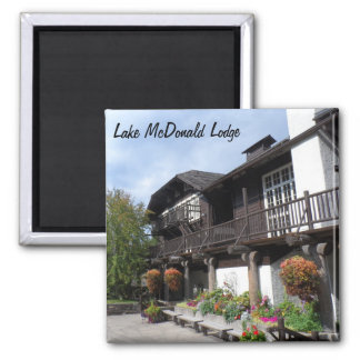 Lake McDonald Lodge- Glacier National Park Magnet