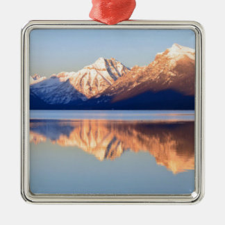 Lake Mcdonald Metal Ornament