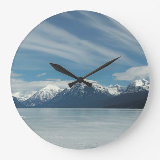 Lake McDonald Wall Clock