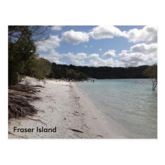 Lake McKenzie, Fraser Island, Queensland Australia Postcard