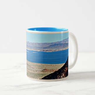 Lake Mead Hoover Dam Two Tone Cup