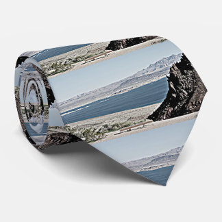 Lake Mead Landscape Men's Tie