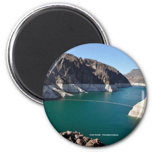 Lake Mead near Hoover Dam Fridge Magnets
