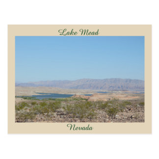 Lake Mead Nevada Postcard