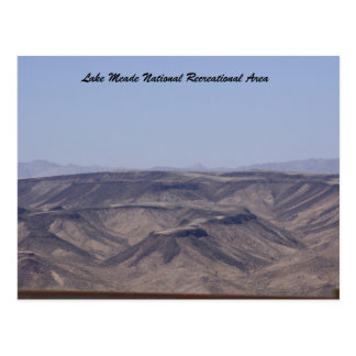 Lake Meade National Recreational Area Post Card