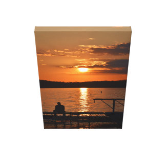 Lake Mendota Sunset Canvas Print