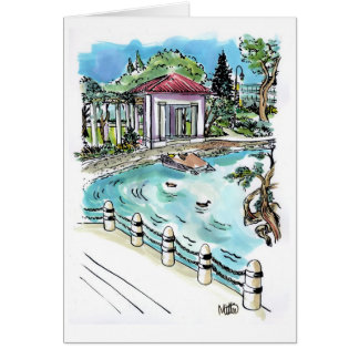 Lake Merritt, Oakland Card