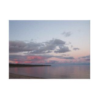 Lake Michigan Beach Canvas Print