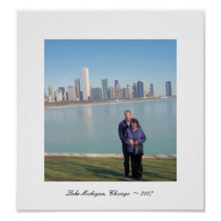 Lake Michigan, Chicago ~ 2007 Poster