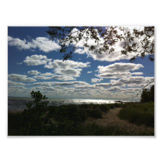 Lake Michigan Dramatic Pic Photo Print