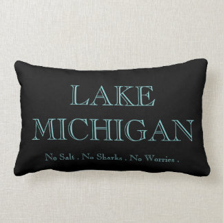 Lake Michigan - Lumbar Pillow