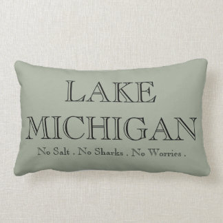 Lake  Michigan Lumbar Pillow