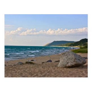 Lake Michigan Postcard