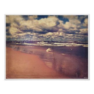 Lake Michigan Summer Poster