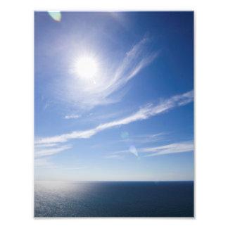 Lake Michigan Sunny Day Photo
