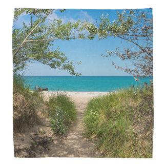 Lake Michigan Tranquility Bandana
