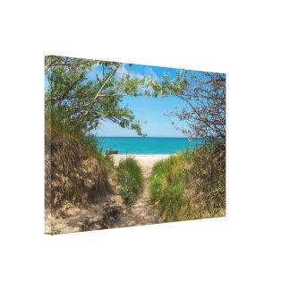 Lake Michigan Tranquility Canvas Print