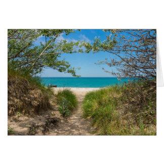 Lake Michigan Tranquility Card