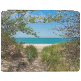 Lake Michigan Tranquility iPad Cover