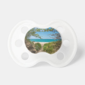 Lake Michigan Tranquility Pacifier