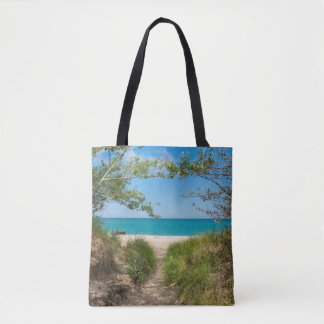Lake Michigan Tranquility Tote Bag