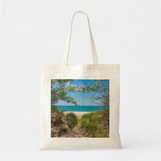 Lake Michigan Tranquility Tote Bag