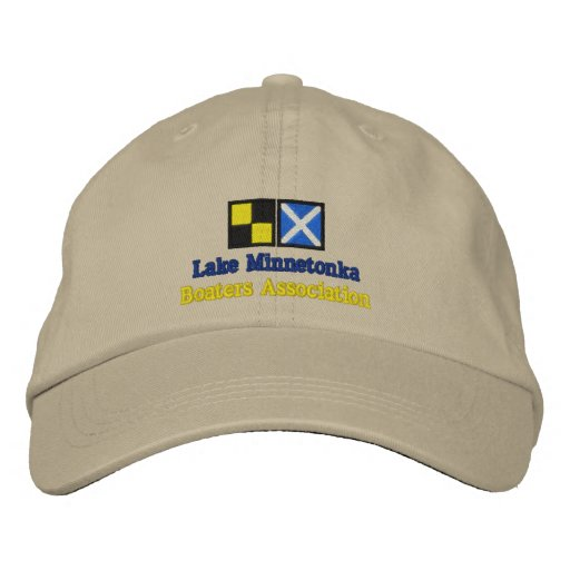 Lake Minnetonka, Boaters Association Embroidered Hats