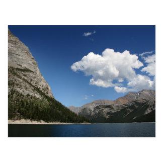 Lake Minnewanka Postcard