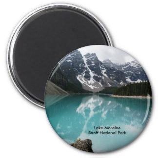 Lake Moraine 2 Inch Round Magnet