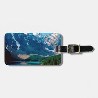 Lake Moraine Park Canada Luggage Tag