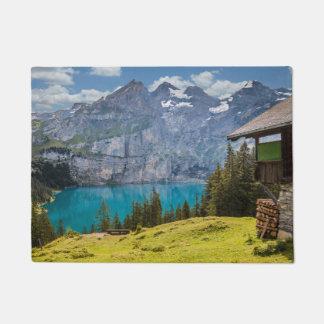 Lake - Mountains Doormat