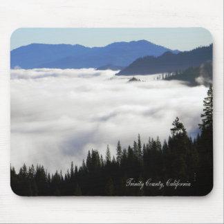 Lake of Fog through trees.... Mouse Pad