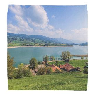 Lake of Gruyere, Switzerland Bandana