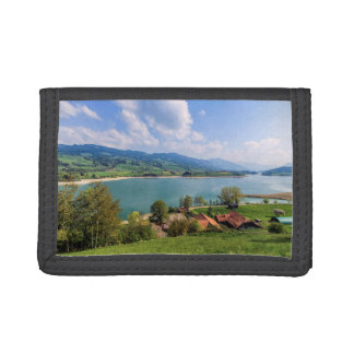Lake of Gruyere, Switzerland Tri-fold Wallet