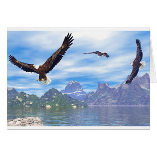 Lake of the Eagles Card