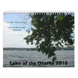 Lake of the Ozarks 2012 Wall Calendar
