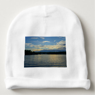Lake Of The Ozarks Blue Sunset Baby Beanie