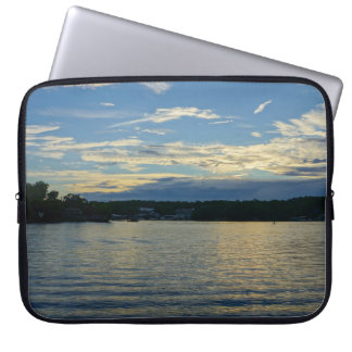 Lake Of The Ozarks Blue Sunset Laptop Computer Sleeves