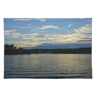 Lake Of The Ozarks Blue Sunset Placemat