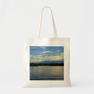 Lake Of The Ozarks Blue Sunset Tote Bag