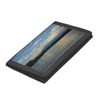 Lake Of The Ozarks Blue Sunset Trifold Wallets