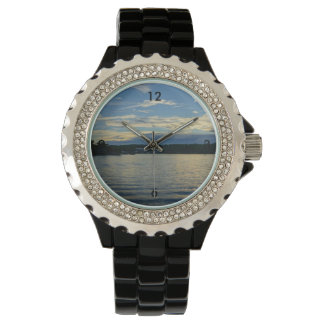 Lake Of The Ozarks Blue Sunset Wristwatches