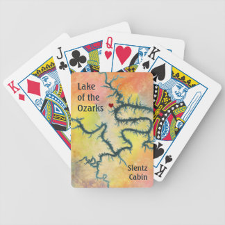 Lake of the Ozarks Missouri Laurie MO Bicycle Playing Cards