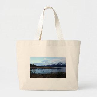Lake on Maud Road Large Tote Bag