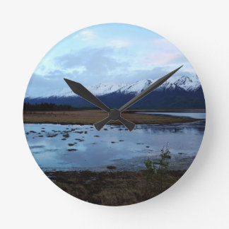 Lake on Maud Road Wall Clocks