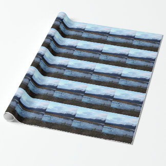 Lake on Maud Road Wrapping Paper