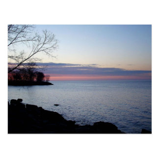 Lake Ontario at daybreak Postcard