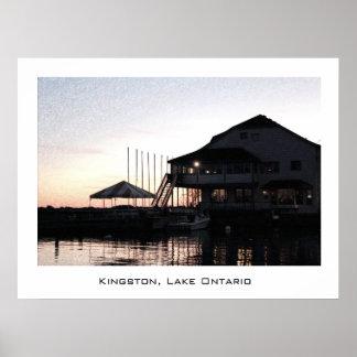 Lake Ontario, Kingston.  Landscape photography. Poster