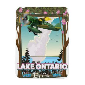 Lake Ontario North American flight poster Magnet